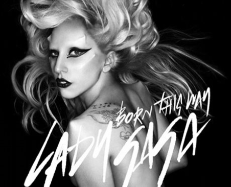 Lady Gaga's 'Born This Way' single cover