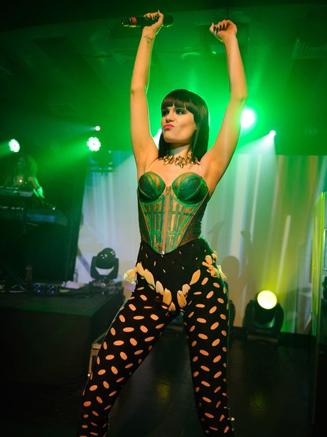 Jessie J live on stage