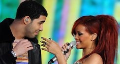 Rihanna and Drakeat The NBA All-Star Game