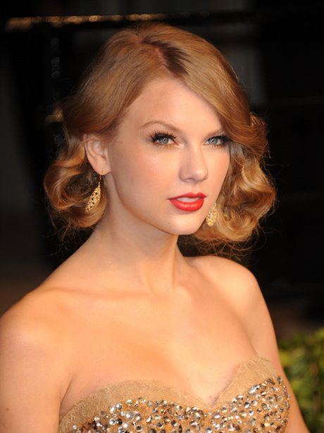 Taylor Swift at a Vanity Fair party.