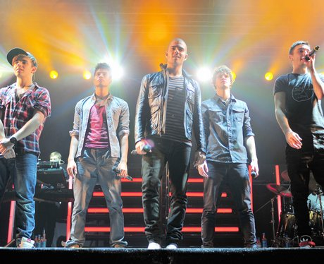 The Wanted live in Newbury