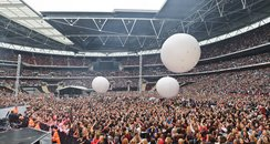 Crowds at the Summertime Ball 2011