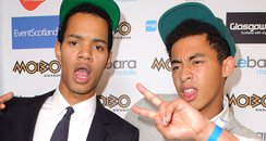 Rizzle Kicks Mobo Awards 2011