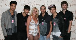 The Wanted with Britney Spears Twitter