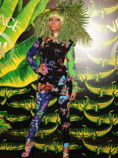 Nicki Minaj Versace Launch