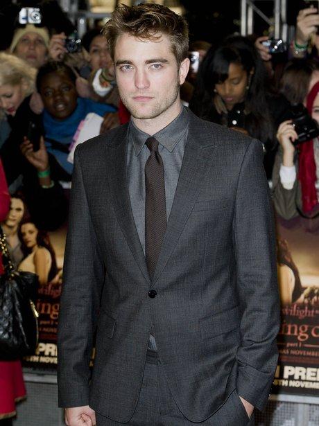 Robert Pattinson at premier
