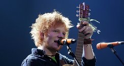 Ed Sheeran live at the 2011 Jingle Bell Ball