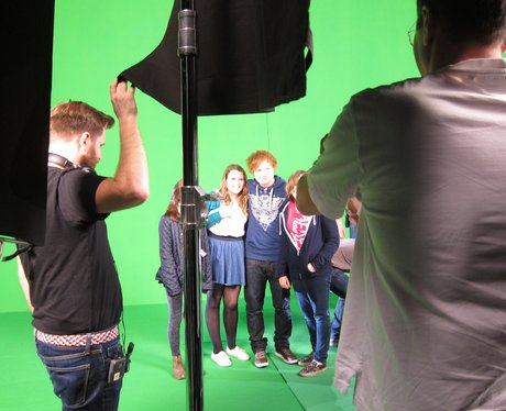 Ed Sheeran's picture diary at the 2011 Jingle Bell