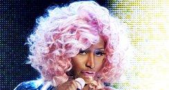 Nicki Minaj performing