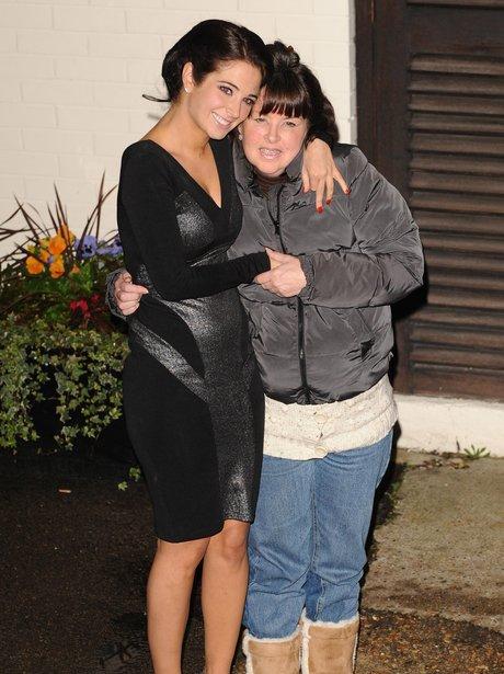 Tulisa with her mum