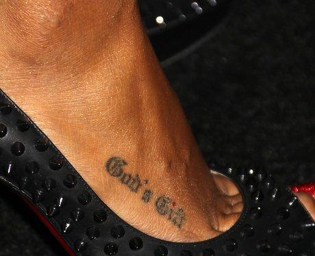 Kelly Rowland Tattoo