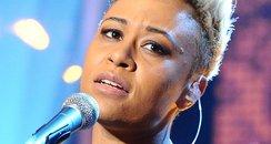 Emeli Sande sings live on television