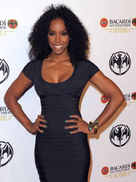 Kelly Rowland at Bacardi's 150th anniversary