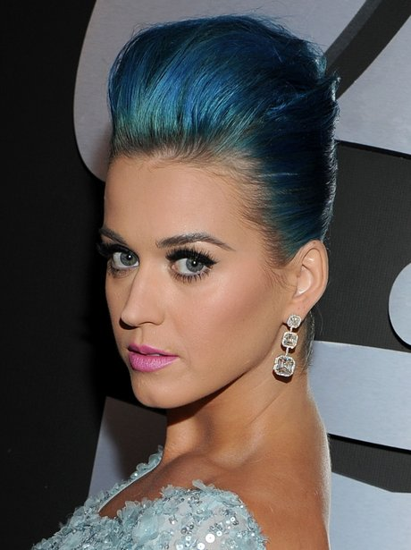 Katy Perry on the red carpet at the Grammy Awards