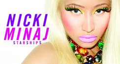 Nicki Minaj 'Starships' single artwork