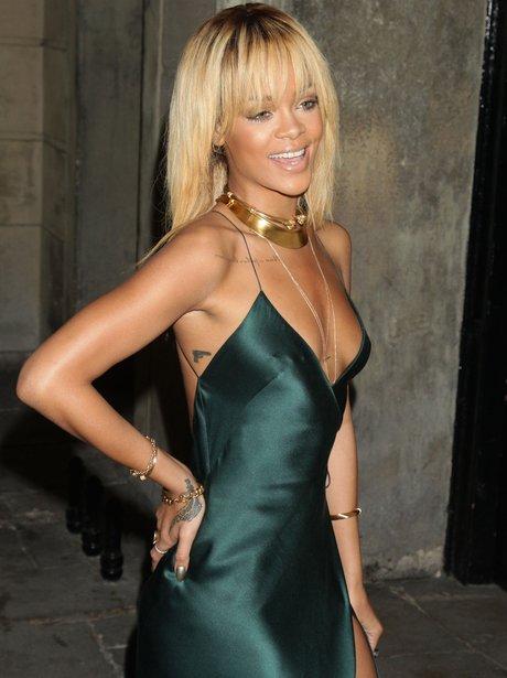 Rihanna Glams Up For London Fashion Week | Rihanna - Capital FM