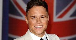 Olly arrives for brits