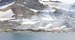 fire at Antarctic research base