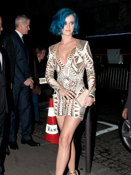 Katy Perry at London Fashion Week