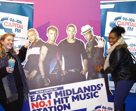 JLS In Nottingham