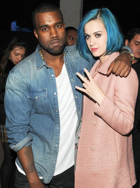Katy Perry and Kanye West