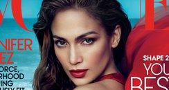 J- Lo Vogue Front Cover