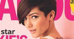 Frankie Sandford in Glamour Magazine