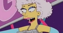 Lady Gaga in The Simpsons