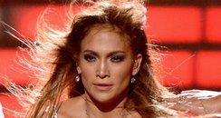 Jennifer Lopez on stage