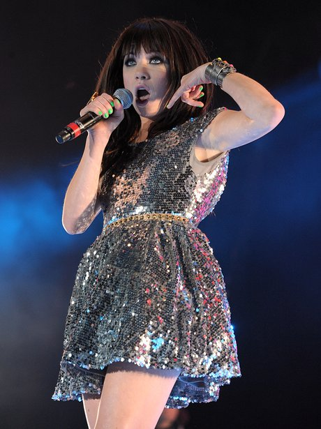 Carly Rae Jepson live at the Summertime Ball 2012
