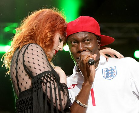 Dizzee Rascal and Florence Welch Capital FM Summer