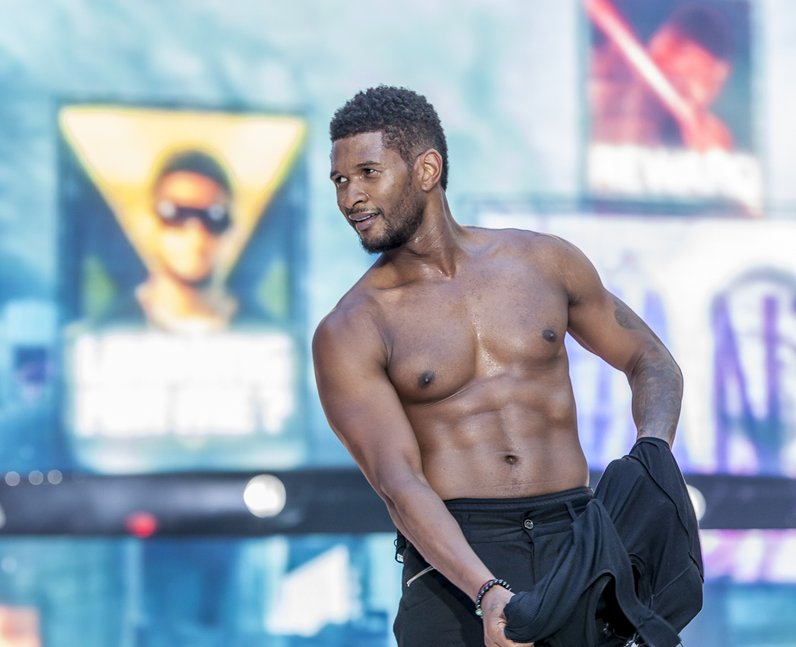 Usher live at the Summertime Ball 2012