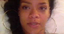 rihanna in video to fans