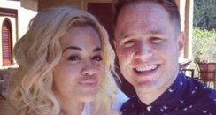 Rita Ora and Olly Murs