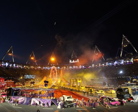 The London 2012 closing ceremony.
