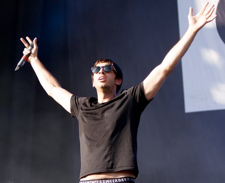 Example Performs At V Festival 2012