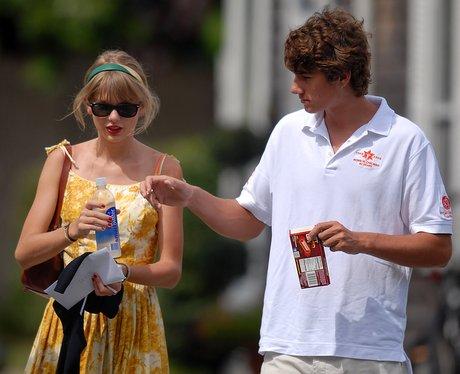 Taylor Swift and her boyfriend
