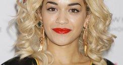 Rita Ora signs copies of her album in London