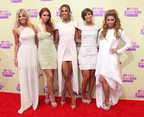 The Saturdays at MTV VMAs 2012.