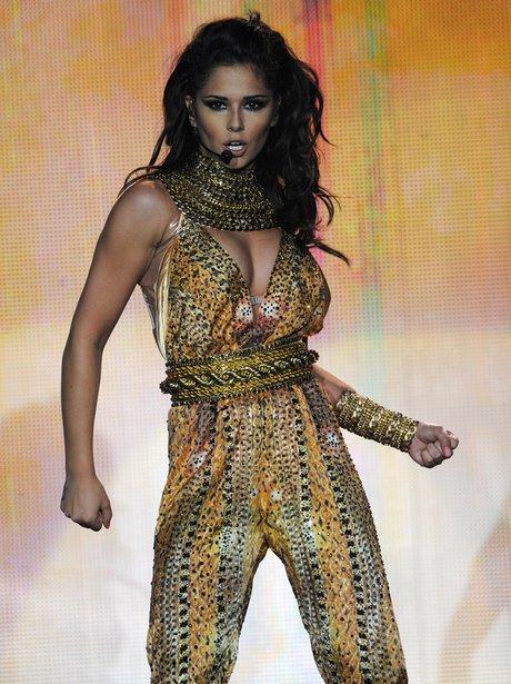Cheryl Cole launches her 'A Million Lights' tour.