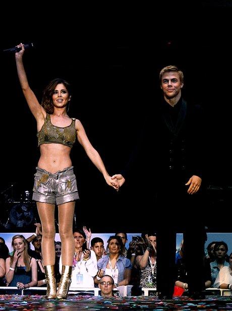Cheryl Cole and Derek Hough