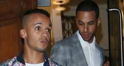 Aston Merrygold and Marvin Humes of JLS