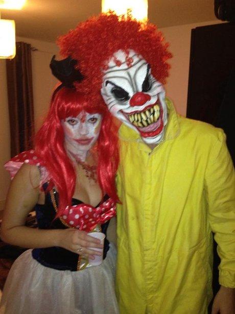 Tom Parker on Halloween.