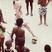 Image 4: Lady Gaga visits slums in Rio and plays football