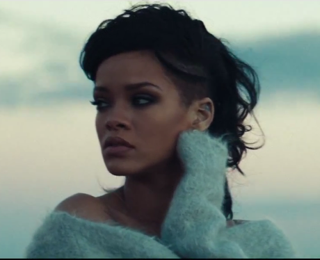 Rihanna in the music video for Diamonds