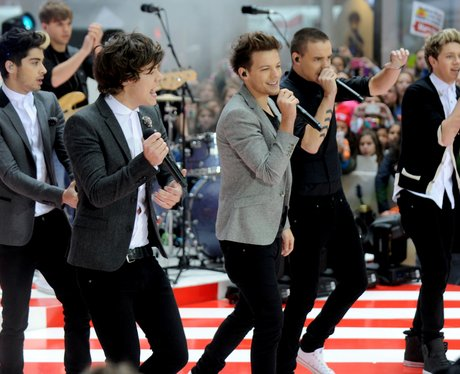 One Direction performs on NBC's 'Today'