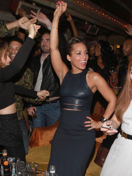 Alicia Keys celebrates her album release