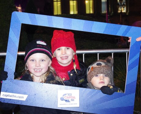 Bolton Christmas Lights Swith On
