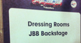 Backstage at the Jingle Bell Ball 2012