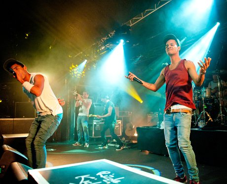 Rizzle Kicks performing live in concert